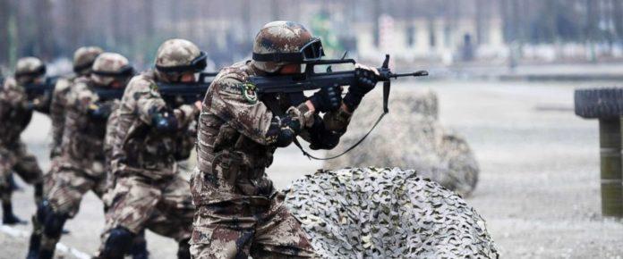 china, indo, border, robot, battlefield, platue